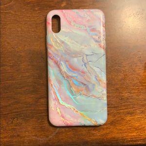 Velvet Caviar Marble iPhone XS Max case.